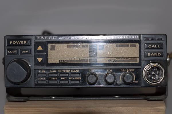 Yaesu FT 4700 VHF